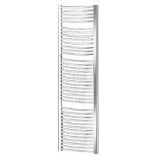 Termoarredo scaldasalviette 1800x600 acciaio cromo tubi curvi interasse 550 mm