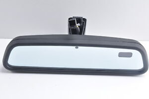 AUDI A6 S6 Rear View Mirror Auto Dimming Compass OEM 2002 - 2005 *