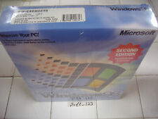 MICROSOFT WINDOWS 98 SECOND EDITION FULL OPERATING SYSTEM WIN 98 SE =SEALED BOX