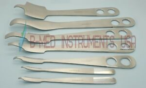 OR Grade 7 Hohmann Retractors Set Hip Lever Orthopedic Surgical Instruments