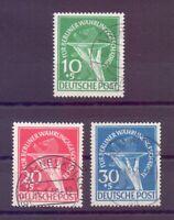 Berlin 1949 - Währungsgesch. - MiNr. 68/70 gestempelt - Michel 600,00 € (257)