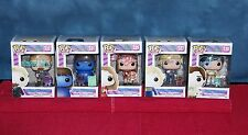 AUTOGRAPHED signed FUNKO POP VINYL LIMITED EDITION SET: FIVE WONKA KIDS! + XTRAS