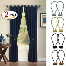 2PCS Ball Magnetic Curtain Buckle Holder Tieback Clips Home Window Accessories