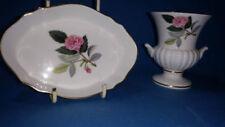 Trinket Dish Hathaway Rose Wedgwood Porcelain & China