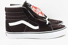 51610e3422 Vans SK8 Hi Mens Size 8 Skate Shoes Chocolate Torte Suede