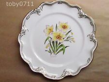 "COALPORT ENGLISH GARDEN FLOWERS D SIMMILL NARCISSUS 9"" DISPLAY PLATE (Ref1081)"