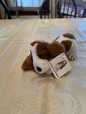 Hush Puppies Brown Basset Hound Dog Plush Animal P73