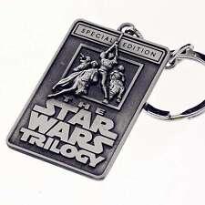 The Star Wars Trilogy Film Logo Keychain Car Key Chain Ring Accessories001