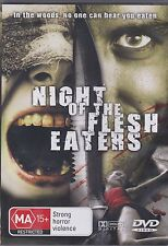 NIGHT OF THE FLESH EATERS - James Lemire, Gia Franzia, - DVD  NEW -