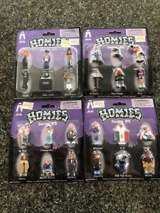 homies figures Series 5 Complete Brand New Blister