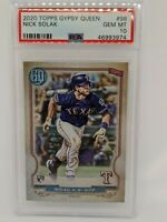 2020 Topps Gypsy Queen #98 Nick Solak Texas Rangers PSA 10 Rookie RC