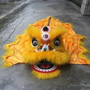 Plush Animal Wool Lion's Head Lion Dance Chinese Traditional Custom for Kids