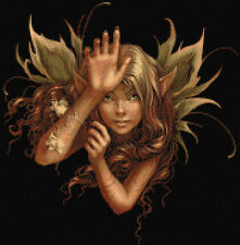 Fawn Fairy Counted Cross Stitch Kit. Fairys / Fantasy