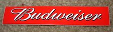 BUDWEISER Classic Red Banner Logo STICKER decal craft beer brewing
