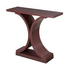 Convenience Concepts Newport Infinity Console Table, Mahogany - 121899MG