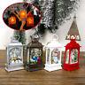 FJ- Christmas Water & Glitter LED Lantern Angel Light Up Xmas Decoration Ornamen