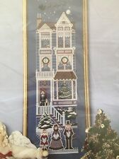 ASTOR PLACE Christmas Victorian House  Counted Cross Stitch Kit