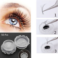 Wimpern Kleber Halter Blossom Cup Ring Wimpernverlängerung Adhesive Stand new,