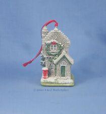 Lilliput Lane New In Box w/Deed Plum Cottage Ornament 768