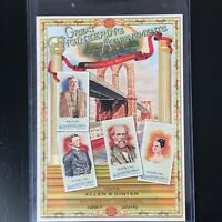 2010 Topps Allen & Ginter Box Toppers Great Engineering Achievements MINT