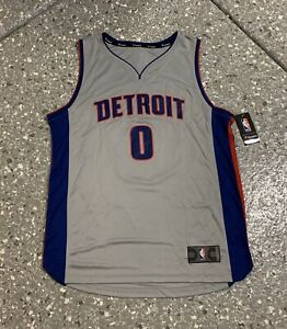Andre Drummond Detroit Pistons Fanatics Replica Jersey Men's Large New With Tags