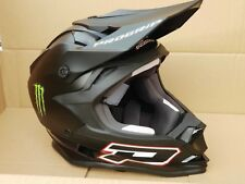 CASCO XXL NERO OPACO PROGRIP MONSTER MOTO CROSS MOTARD MOTOCROSS ENDURO CASCHI
