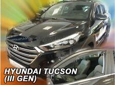 2 Deflettori Aria Antiturbo Hyundai Tucson III 2015 in poi 5 porte