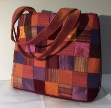 Bath and Body Works patchwork and velvet handbag/tote/purse *RARE*