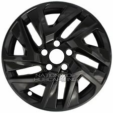 "4 BLACK 2015 2016 Honda CRV 17"" Wheel Skins Hub Caps Full Alloy Rim Covers New"