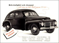 1946 Volvo PV444 Series, Flat Flexible Refrigerator Magnet, 40 Mil thick