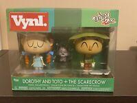 Funko Pop Vynl Wizard Of OZ Dorothy Toto & The Scarecrow NEW