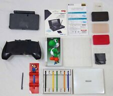 Nintendo DS 2DS 3DS Accs. Lot - Cases Screen Protectors Stylus' Charge Dock etc.