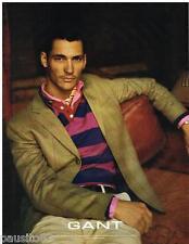 PUBLICITE ADVERTISING 095  2005  GANT  pret à porter mode homme