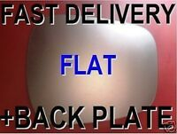 FITS NISSAN KUBISTAR 2003+ DOOR WING MIRROR GLASS +PLATE FLAT RIGHT OR LEFT