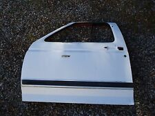 82-86 Ford F-150 250 350 Bronco Front Left Driver Door Shell White OEM