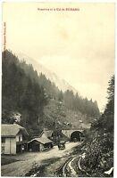 CPA 88 Vosges Frontière et le Col de Bussang animé