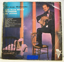 "33 tours 25 cm LLIANOS MOLENDO Vinyl 10"" LES + BEAUX TANGOS MONDE -TRIANON 5301"
