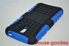 Good Protection Blue Case Cover Stand For Samsung Galaxy S4 Durable Heavy Duty