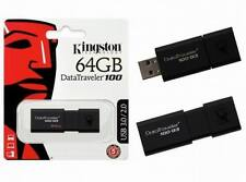 64 Gb Kingston Datatraveler Usb 3.0 2.0 Flash Pen Drive Memory Stick 64 Gig 64 Gb