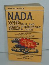 NADA Recreation vehicle appraisal guide 2001 January to April.