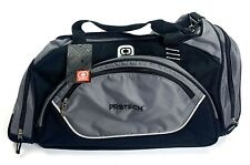 Ogio Black Gray New Duffel Bag Gym Bag Pro Tech 47903-3