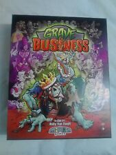 Grave Business Board Game 100% complete by Minion Games