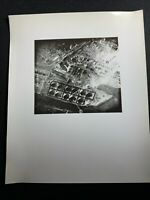 Official Photograph US Army Air Forces Aerial Map Bombing Targets Instruction 2