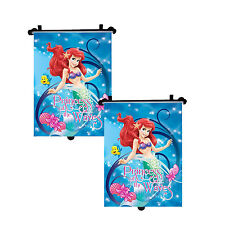 2x Genuine The Frozen Disney Princess Car Sun Shade Roller Window Blind for Kids