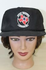 Estado de Texas Trooper  Association Negro Béisbol Gorra Camionero Gorra  Ajustable e980ce3227f