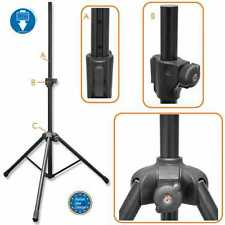 Bespeco PN90XLN Tripod Speaker Stand 198lb capacity with Pneumatic Air Cushion