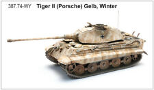 ARTITEC 387.74-WY - 1/87 / H0 WWII TIGER II (PORSCHE) - WINTERTARN - NEU