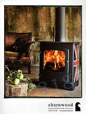 CHARNWOOD Woodburning Stove ADVERT - 2014 Advertisement
