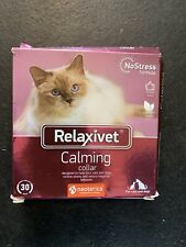 Relaxivet Calming Collar For Cats and Small Dogs - Reduce Anxiety Your Pets