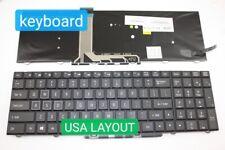 Keyboard US For Eurocom Sky X9  Color Backlit 99NEW